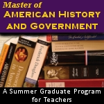 Master of American History and Government Program